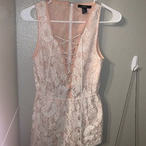 Forever 21 Size small Lace romper